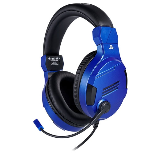 Auriculares Stereo Gamer BigBen PS4 Azul