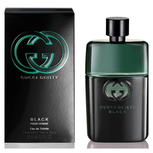[INN03212] Colonia Gucci Guilty Black Pour Homme 90 ML Hombre