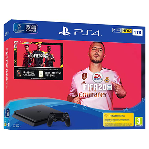 [INN024] Consola Sony PlayStation 4 Bundle 1TB + Fifa 20