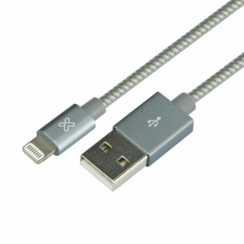 [INT3105] Cable USB Ligthning 0.5 m Gris Klip Xtreme