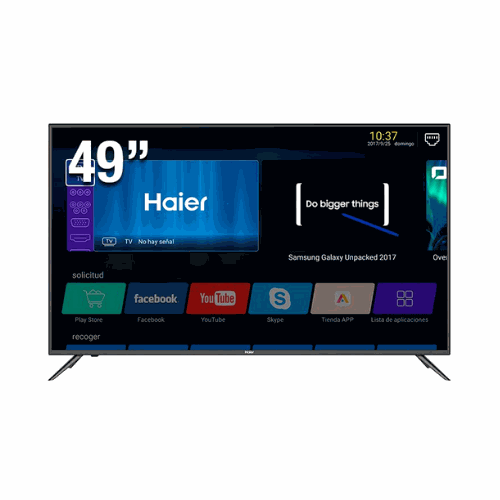 "[INT3628] Pantalla 49"" Haier LE49K6500DA FHD Smart TV"