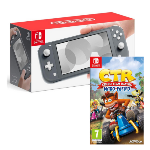 [INN0441] Combo Consola Nintendo Switch Lite + Juego Crash Team Racing Nitro-Fueled Nintendo Switch