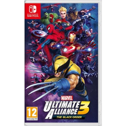 [INN0540] Juego Nintendo Switch Marvel Ultimate Alliance 3: The Black Order