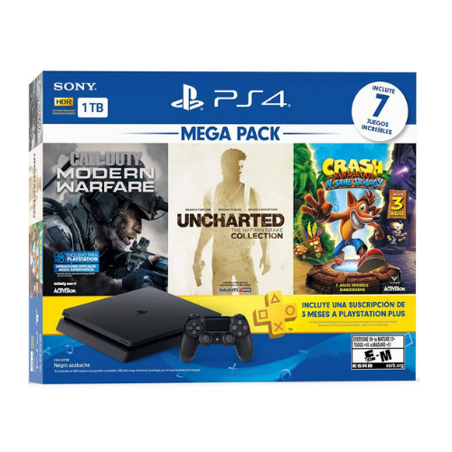 [INN0706] Consola Sony PlayStation 4 Mega Pack 2