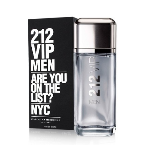 [INN01491] Colonia Carolina Herrera 212 VIP Men 100 ml / 200 ml Hombre
